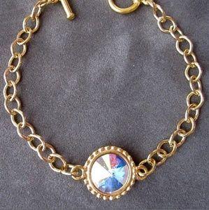 Jewelry - Opal Swarovski Crystal October Bracelet